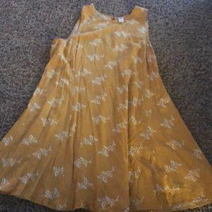 Flowy old navy summer dress
